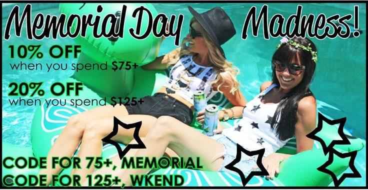 who has memorial day off
