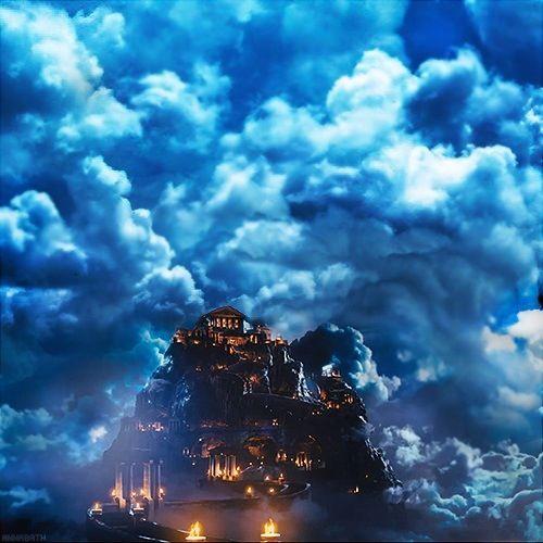 Mount olympus greek mythology percy jackson