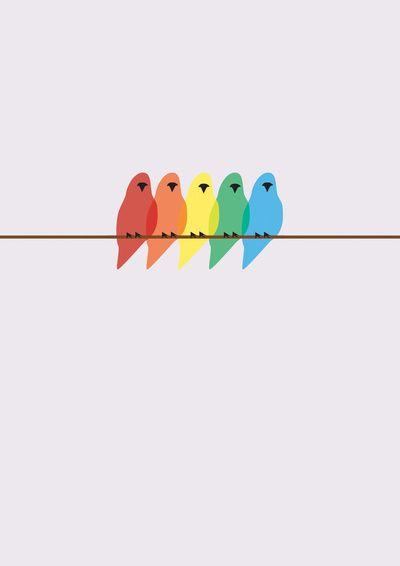 Birds  by Emma J Hardy