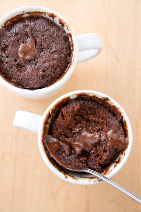 Microwave Chocolate Cake in a Mug...america's test kitchen gives a ...