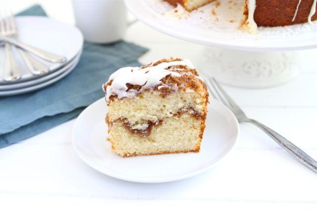 Two Peas yogurt coffee cake - made these in mini muffin form one ...