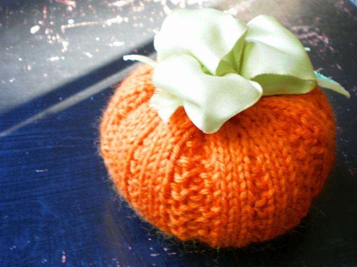 Knit Pumpkin Patterns | knit and crochet | Pinterest