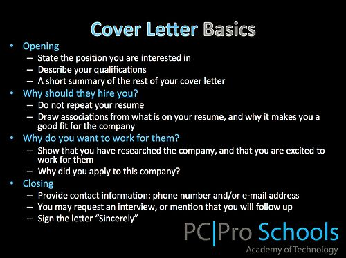 Basics Jobs Cover Letters Pictures To Pin On Pinterest