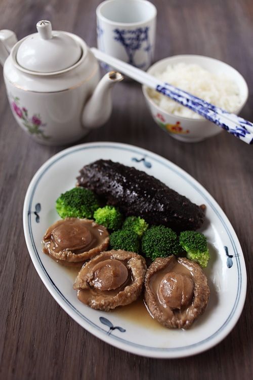 Braised Abalone with Sea Cucumber | fish n seafood | Pinterest