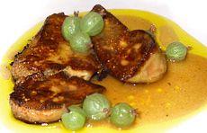 Duck Foie Gras Sauteed in Verjus | Foie Gras | Pinterest