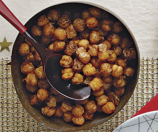 Fried Chickpeas with Garam Masala | Recipe