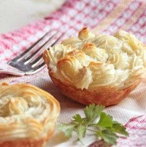 Lamb pies with mint | Amuse-Bouche & Tea Time | Pinterest