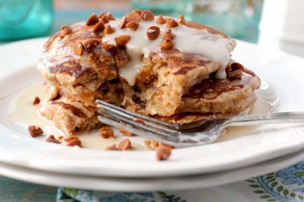 Oatmeal Cookie Pancakes | Cheeky Kitchen | Breakfast | Pinterest
