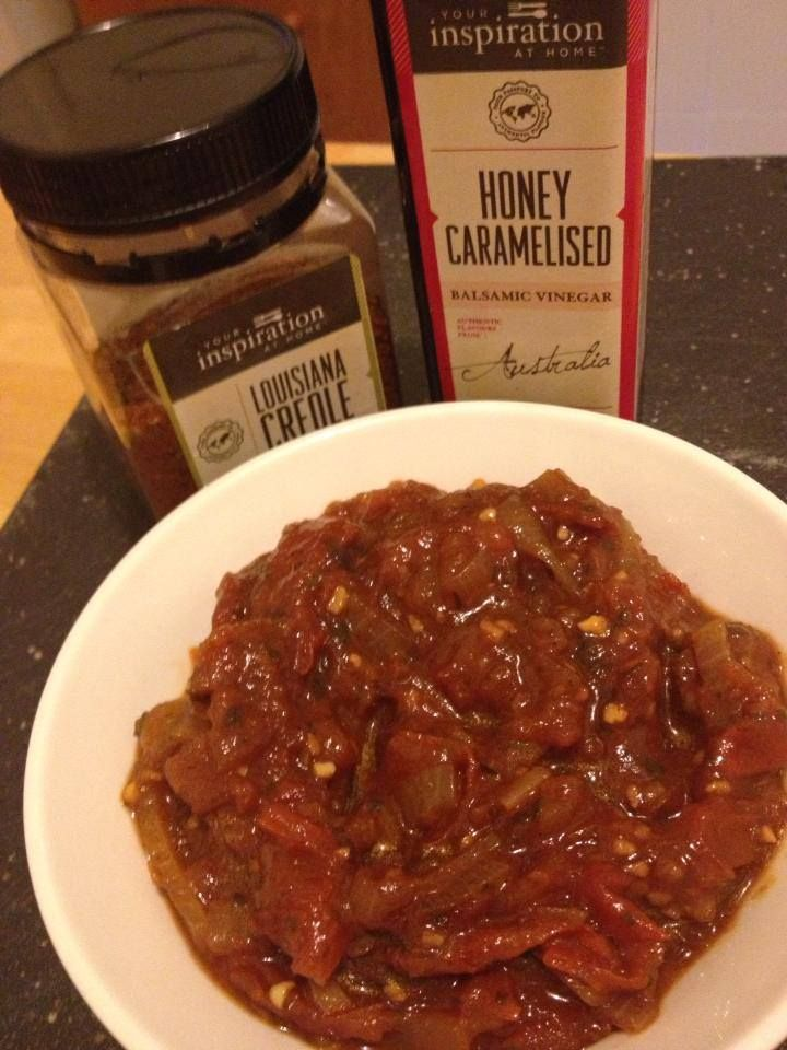 Spicy Tomato Relish | Magic happens with YIAH | Pinterest