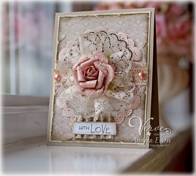 Card: with LOVE | 3. Card Making Ideas | Pinterest