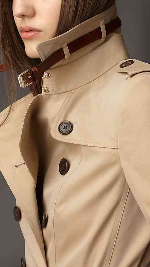This fall, the trench gets a trendy flare with the addition of
