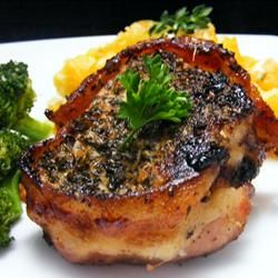 Bacon Wrapped Pork Medallions | Recipe