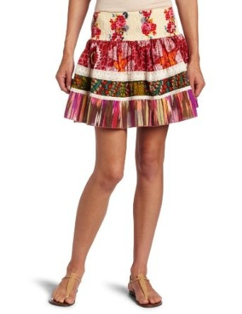Dallin Chase Women's Mario Short Skirt, Multi, Small