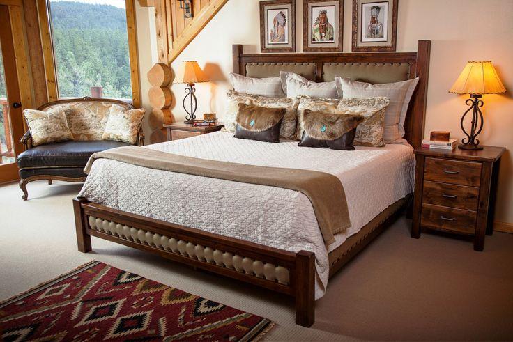 Pin by ingrid tabash on new home pinterest for Rustic elegant bedroom designs