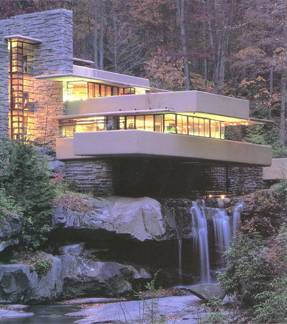 Fallingwater mill run pa architecture pinterest Home run architecture