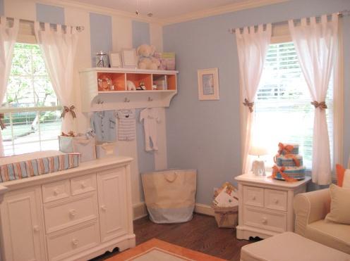 sweet blue nursery