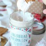 Homemade Gingerbread Marshmallow Fluff - uses sugar, light corn syrup ...