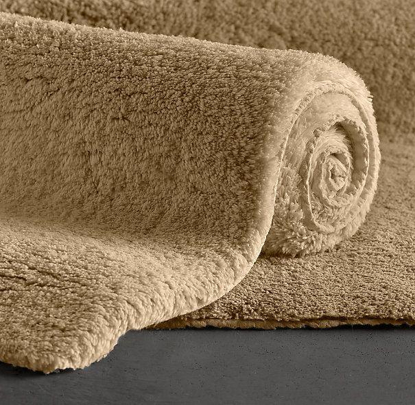 plush pile bath rug home