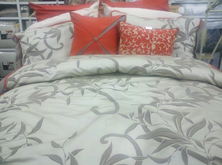 gallery for gt coral and gray bedding