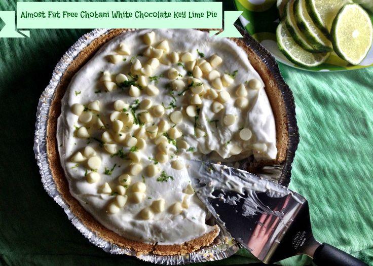 Chobani White Chocolate Key Lime Pie via @Victoria Brown Failla