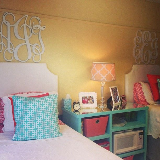 Decorating Ideas > Microwave In Shelving Is Too Cute  Dorm Room Dreaming  ~ 233542_Dorm Room Shelf Ideas