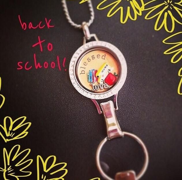 Lanyard locket keys keyholder creative wahm sahm teachers