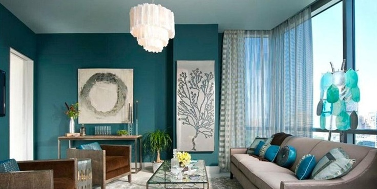 Teal Appeal Living Room Home Decor Pinterest