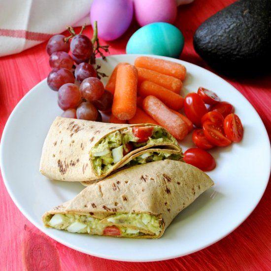 Tuna Avocado Egg Salad (no mayo)- A light and flavorful lunch that ...