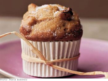 Pumpkin applesauce muffins. They just sound like fall to me.