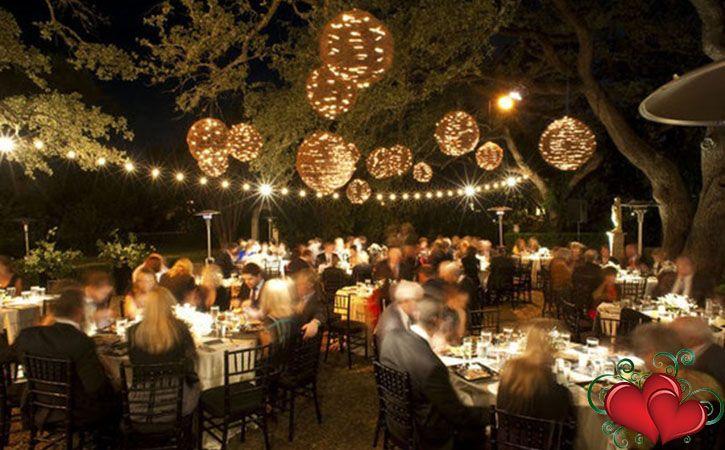 Small Back Yard Wedding Reception
