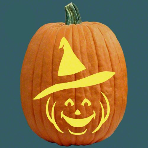 Witchikins cats witches pumpkin carving patterns