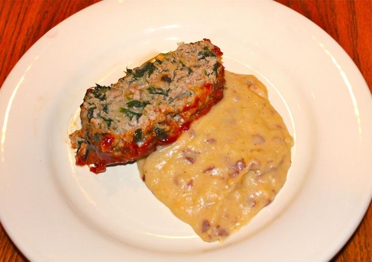 Turkey Spinach Meatloaf | Meatloaf Baked & Slow-Cooker | Pinterest