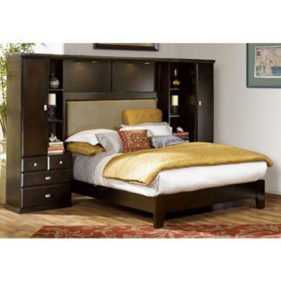 sandstone pier wall bed bedroom deco pinterest