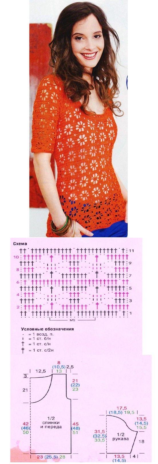 flower effect crochet top!! <3<3<3.. #inspiration_crochet #diy GB