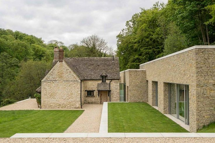 Old Cottage With Modern Extension Houses Pinterest