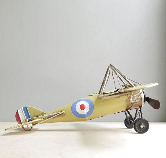 Vintage Toy Airplane 105