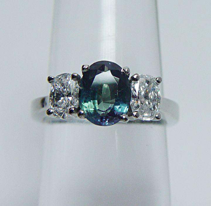 Alexandrite Russian Natural Ring