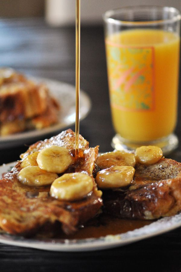 Simple French Toast with Caramelized Bananas (Dairy and Nut Free ...