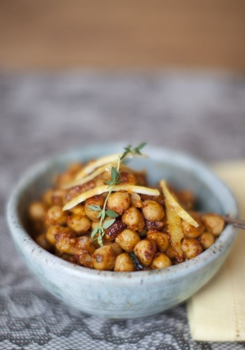 Smoky Fried Chickpeas | Plated.com | Food | Pinterest