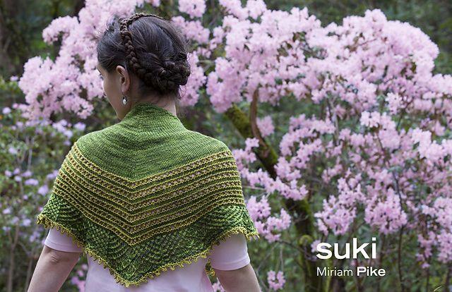 Ravelry: Suki pattern by Miriam Pike