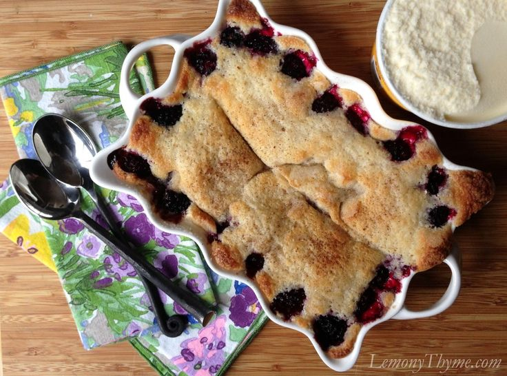 Blackberry Buttermilk Cobbler | Desserts | Pinterest