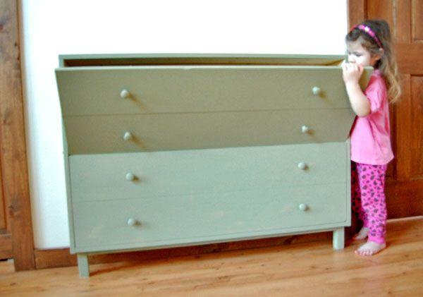 Option 6: Shoe Dresser finished Build. tilt-flip-out-shoe-storage5