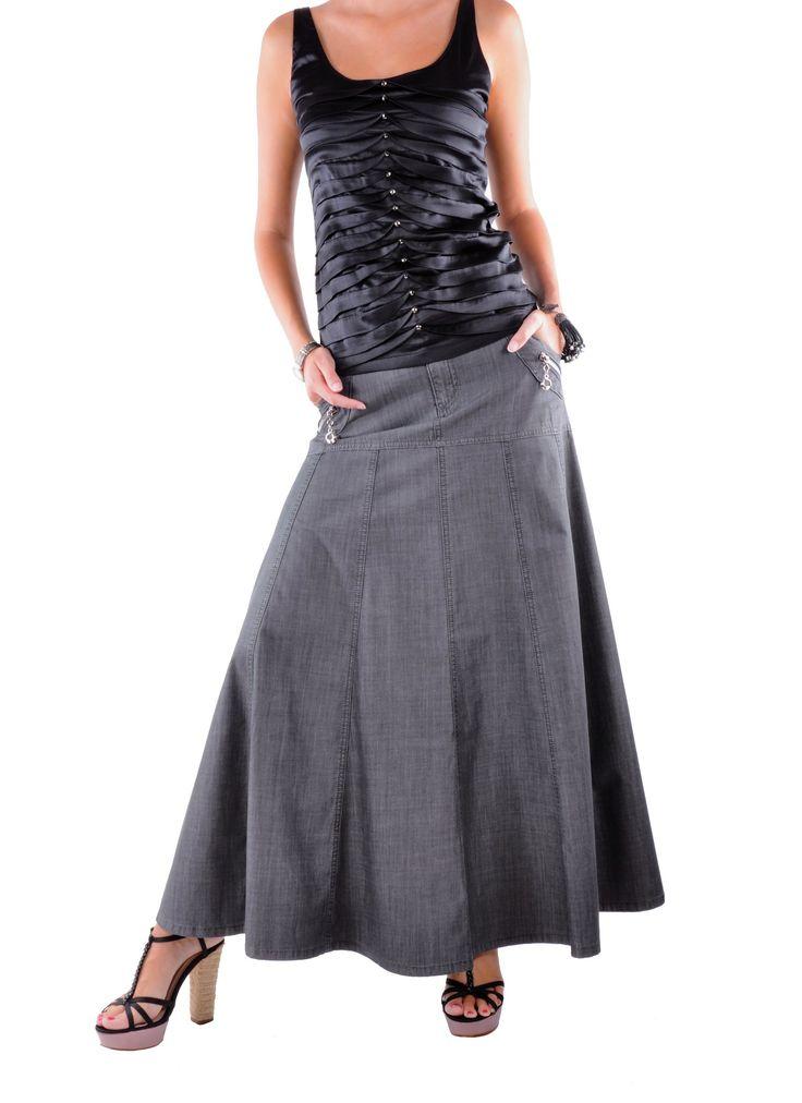 style j gray denim skirt denim skirts