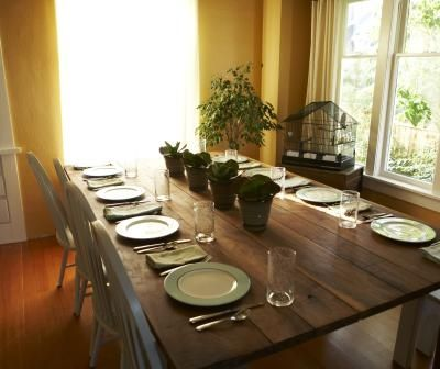 DIY Dining Room Table Seat 10 Home Pinterest