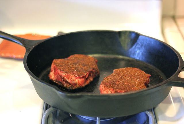 The Lucky Penny: Coffee Rubbed Steak -- Bobby Flay