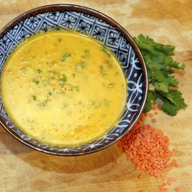Red Lentil Soup With Lemon Recipe — Dishmaps