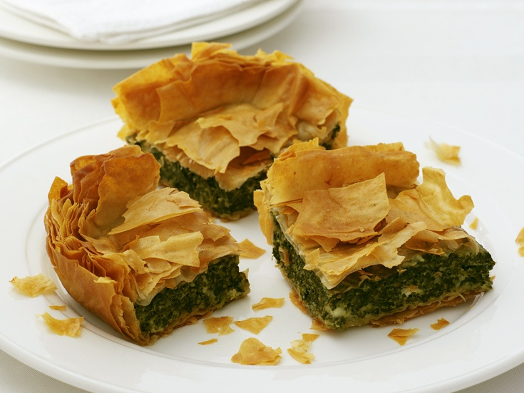 """Cheesy Spinach Squares"""" from Cookstr.com #cookstr"""