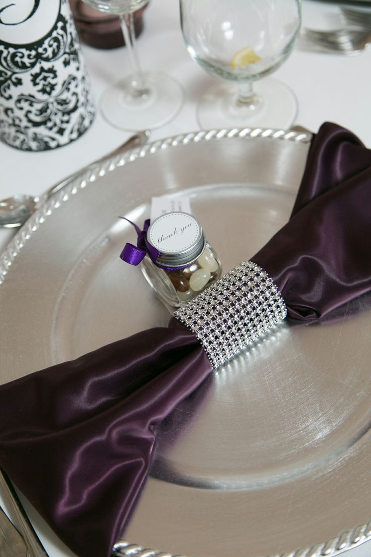 Eggplant And SilverBeautiful Ah Really Getting Married Pin