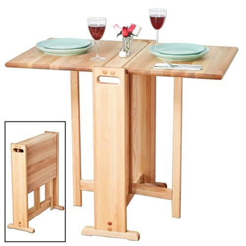 fold away kitchen table get organized products gadgets