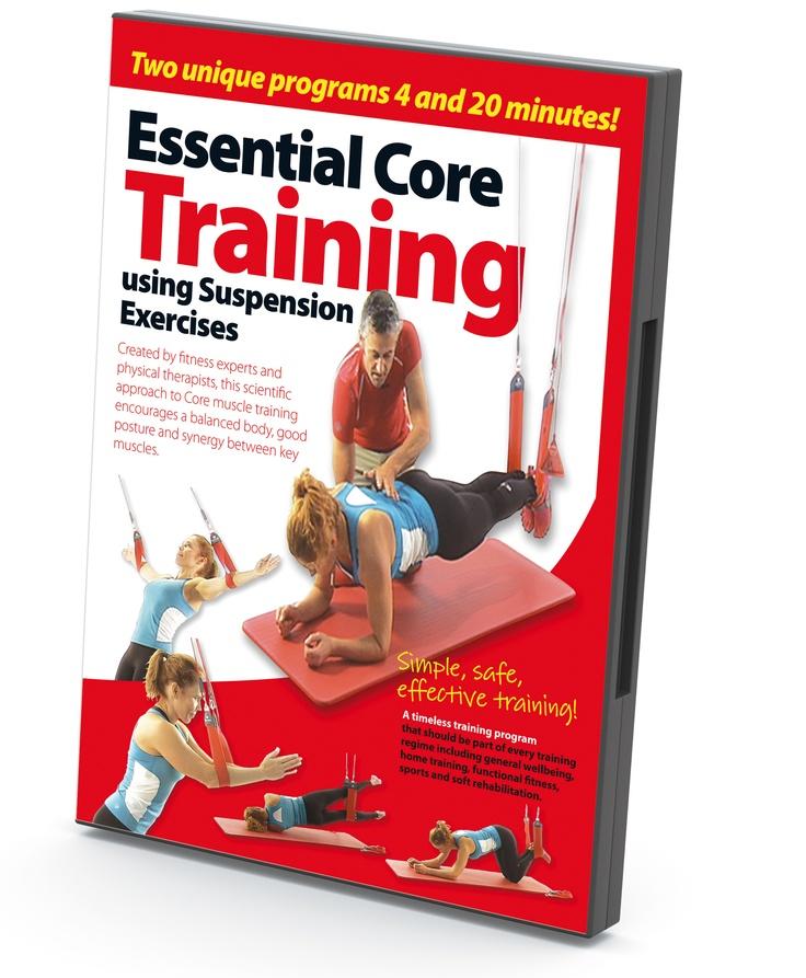 Få en balansert kropp, bedre holdning og samarbeid mellom musklene med dette treningsprogrammet. DVD med utvalgte øvelser for slyngetrening